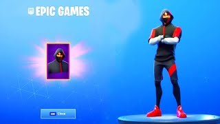 COMMENT À GET ICONIC SKIN FOR FREE IN FORTNITE. (PEAU LIBRE)