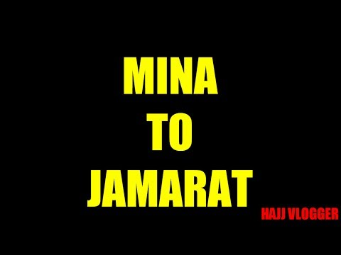 *Hajj Vlogger* - My Hajj Journey (Part 10) *MINA TO JAMARAT*