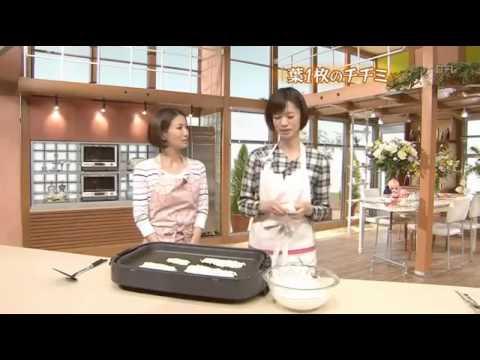 キューピー3分クッキング~白菜チヂミ~