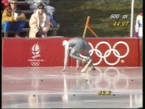 OL1992  1000m  Dan Jansen