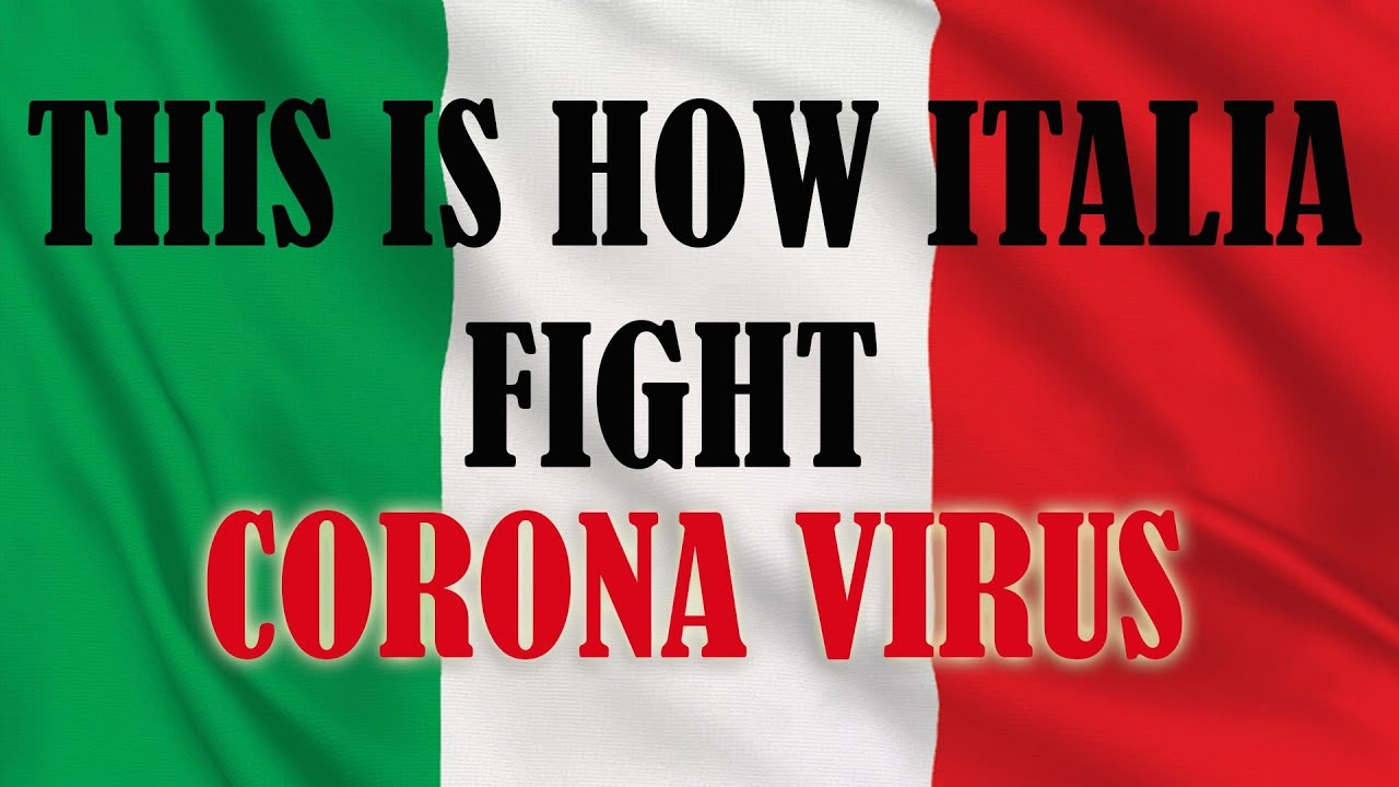 This is how Italy fight Corona Virus