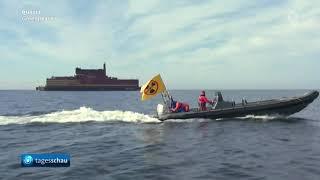 Putin und der kapitalistische Wachstumswahn - Russland stellt schwimmenden Atommeiler vor