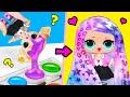 13 Супер крутых ЛАЙФХАКОВ поделок с КУКЛАМИ ЛОЛ Сюрприз! Мультик LOL Surprise toy SCHOOL LIFE HACKS