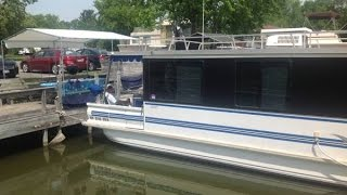 [UNAVAILABLE] Used 1998 Catamaran 35 Aqua Cruiser House Boat in Rochester, New York