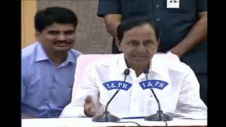 cm kcr comments on congress