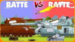 Дуэль больших крыс - Мультики про танки