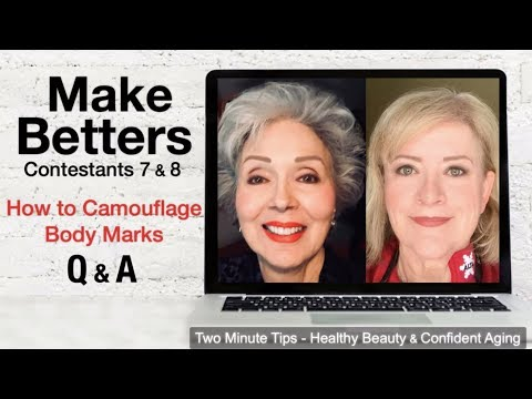 LIVE - How To Camouflage Marks On Arms & Legs + 2 Make-Better Reveals + Q&A