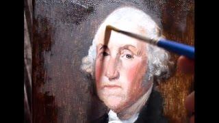 Eric J Chapman Art - Oil Painting Time Lapse - George Washington