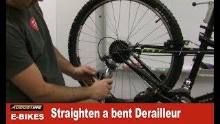 How to Straighten a bent Derailleur