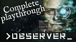 Observer - Complete Let