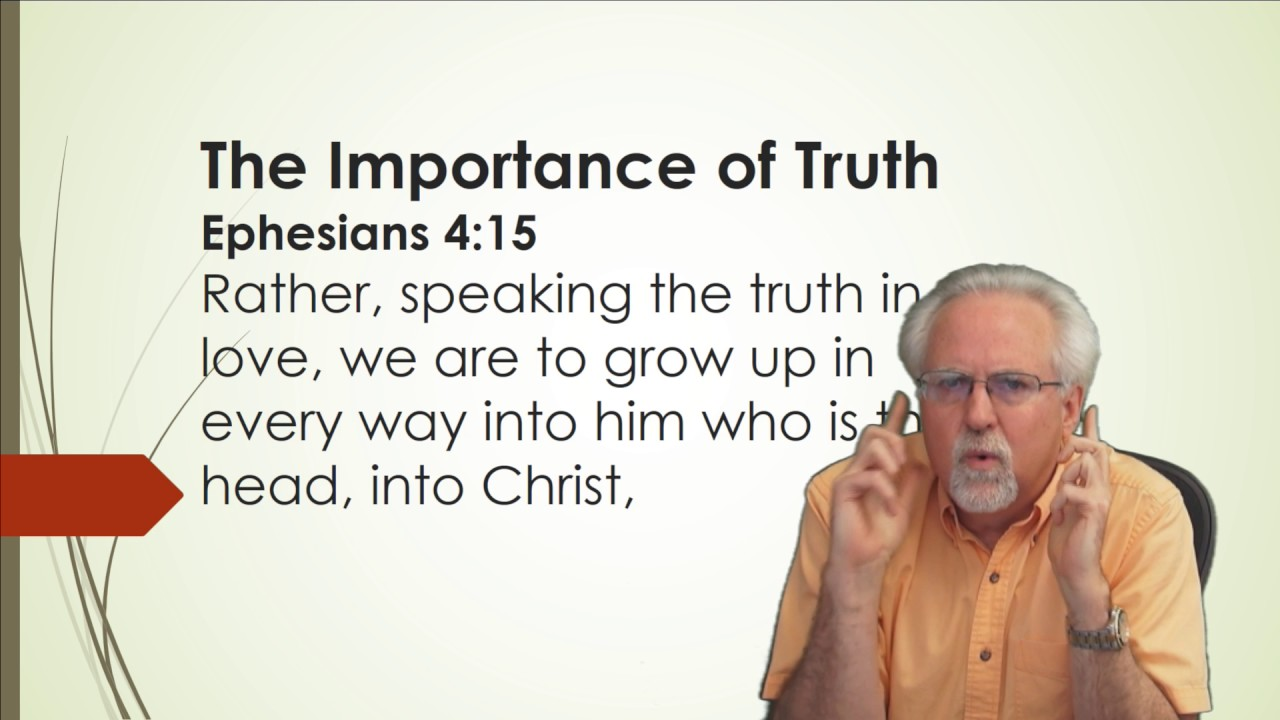 Importance of being truthful