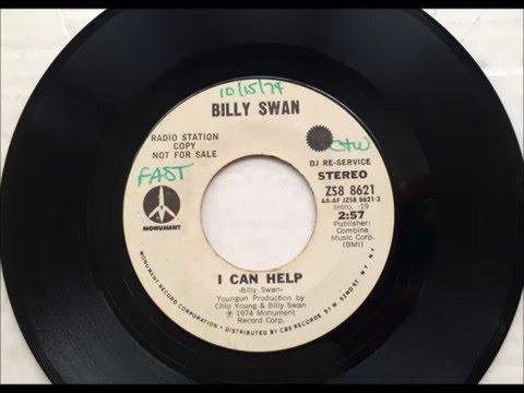 I Can Help , Billy Swan , 1974 Vinyl 45RPM