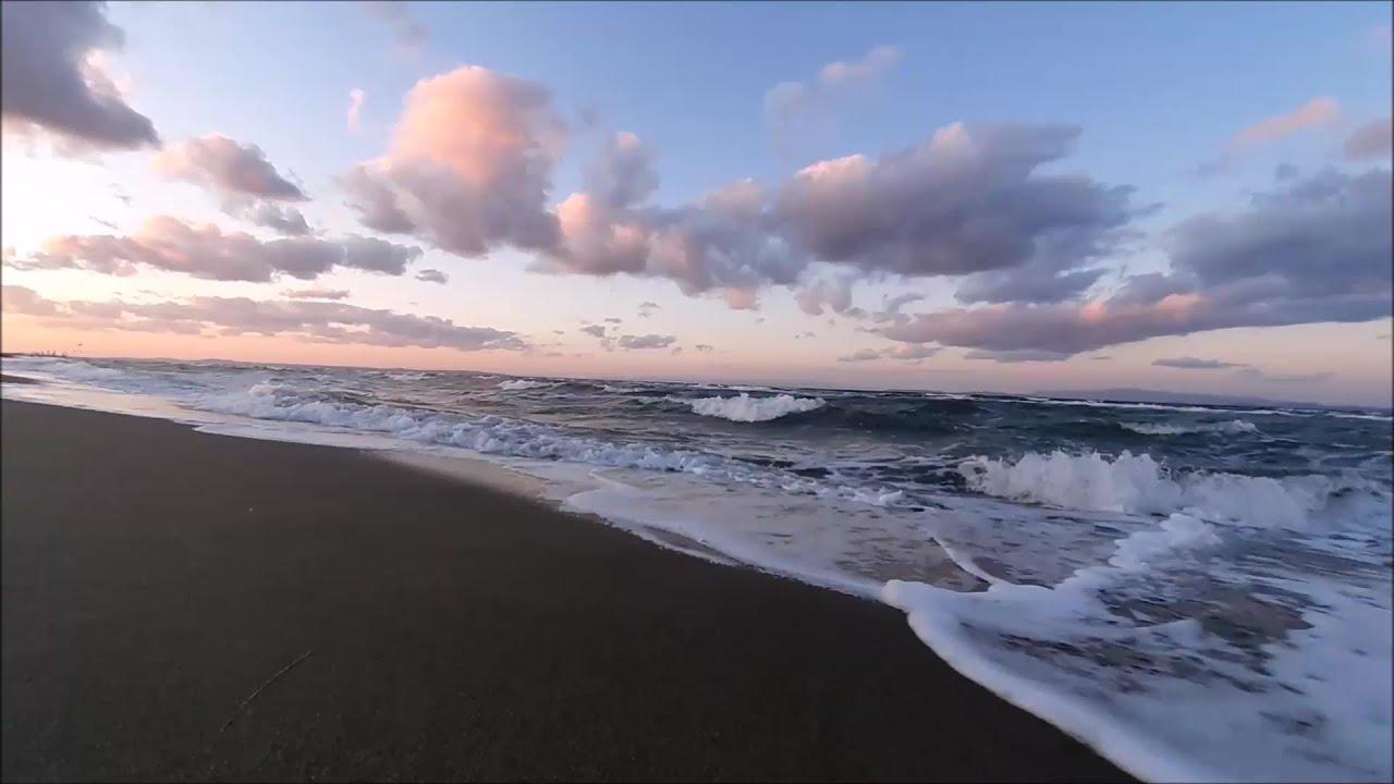 DİNLENDİRİCİ DENİZ SESİ, SU ve DALGA SESİ.  Sakinleştirici Deniz Manzarası, Rahatlatıcı Video.