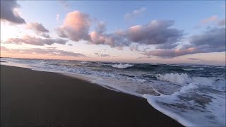 RELAXING SEA SOUND, WATER and WAVE SOUND. Calming Seascape, Relaxing Video.