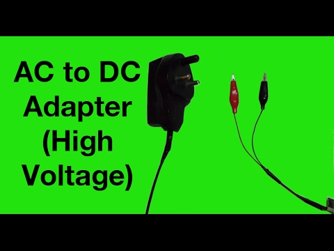How to make Transformer-less High Voltage AC to DC adapter using old phone adapter