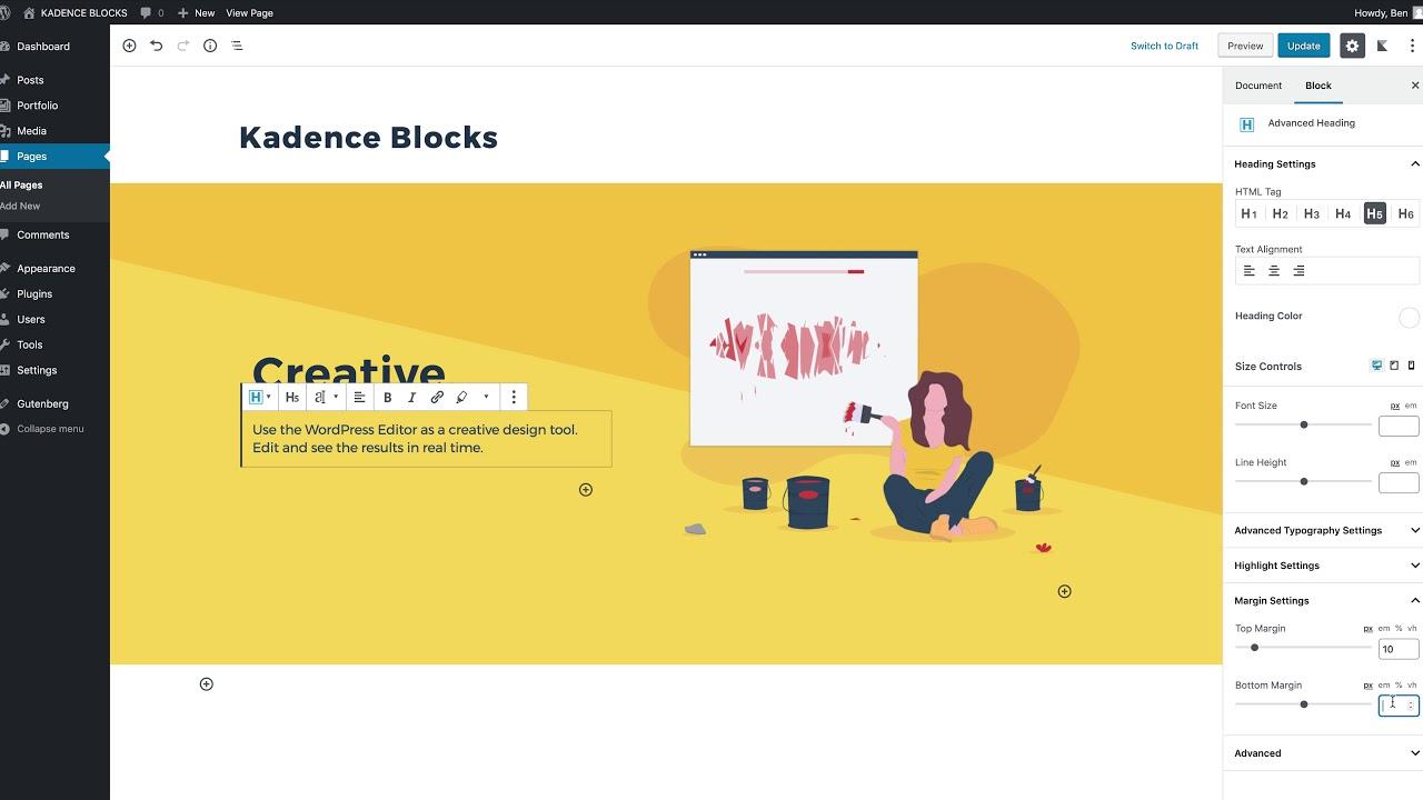 Kadence Blocks – Gutenberg Page Builder Toolkit – WordPress plugin