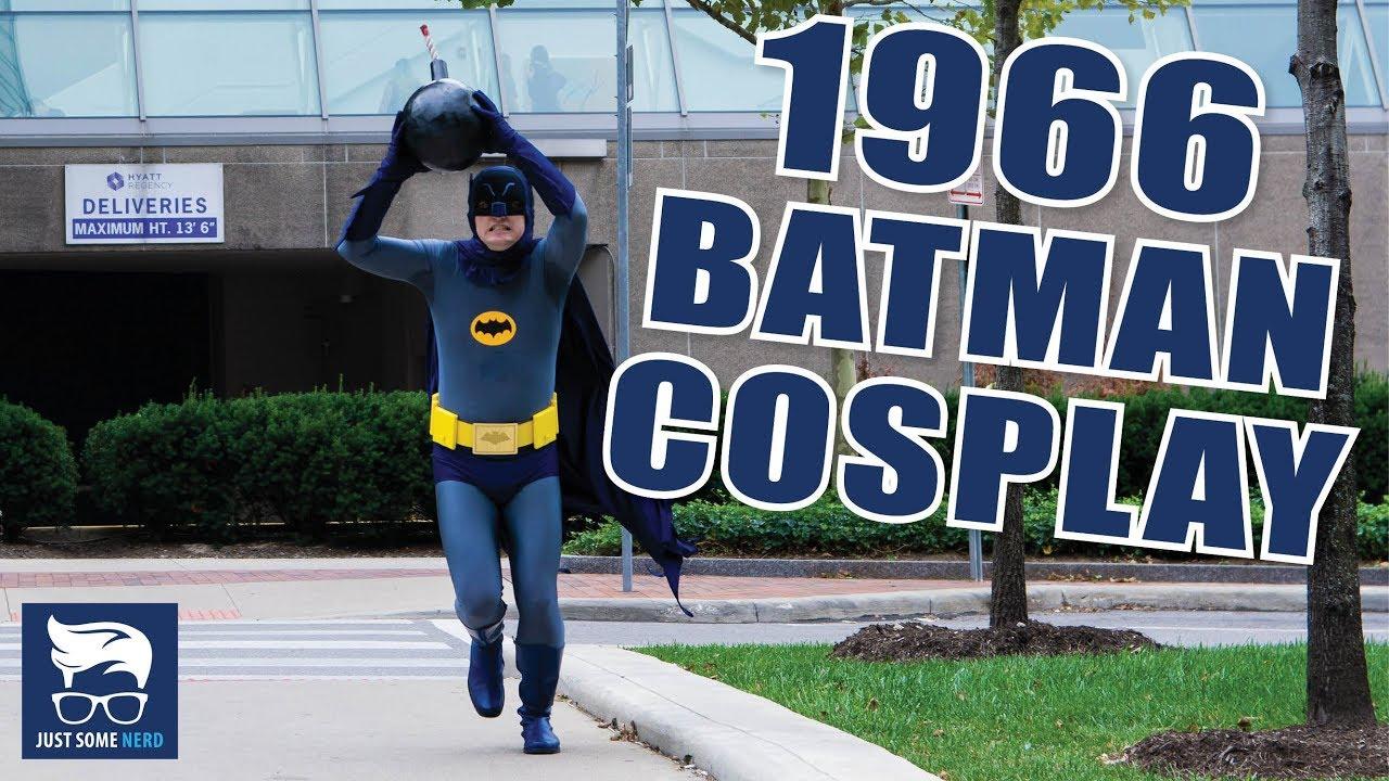 Batman Adam West Cosplay Costume Costumes & Accessories