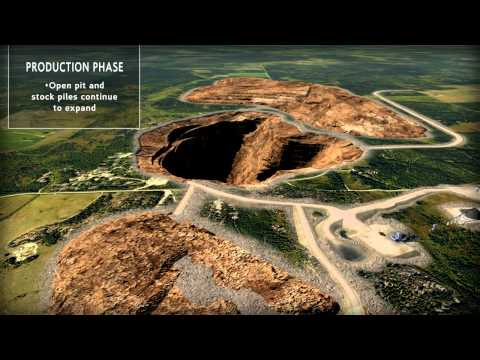 Mining Gold Silver Technical 3D Animation / IR PR Presentation Ontario Rainy River Resources