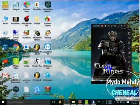 Part2 |Started And RUN |server  Clash Of Kings Online _#COK_ Mod شرح تشغيل اللعبه أونلاين