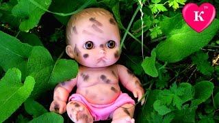 Куклы Пупсики НАШЛИ БРОШЕННОГО МАЛЫША  Мультик с куклами