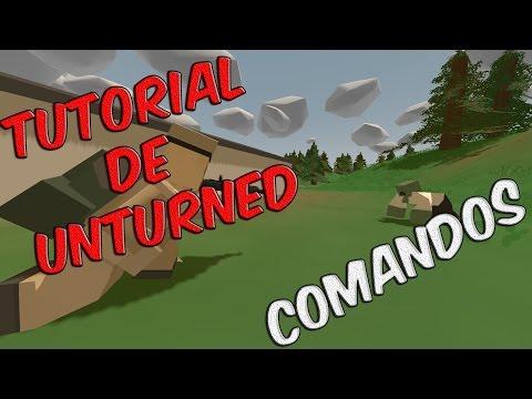 Unturned Comandos SinglePlayer - Tutorial De Unturned
