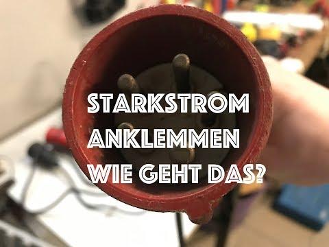 ACHTUNG ! Starkstrom anschließen- Wie geht das überhaupt ?