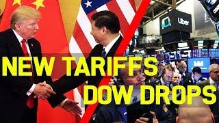 China Retaliates Against US Tariffs And The Dow Drops