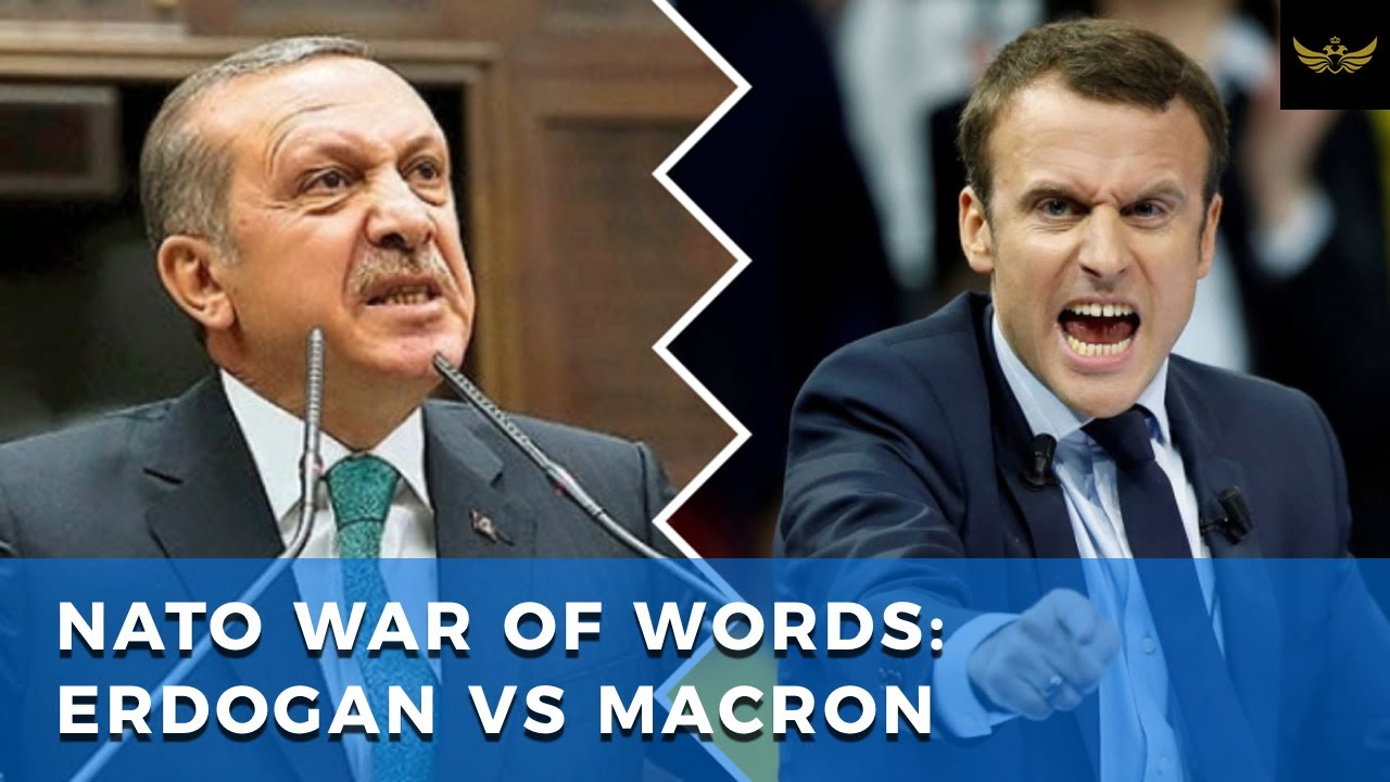 NATO war of words between France's Macron and Turkey's Erdogan