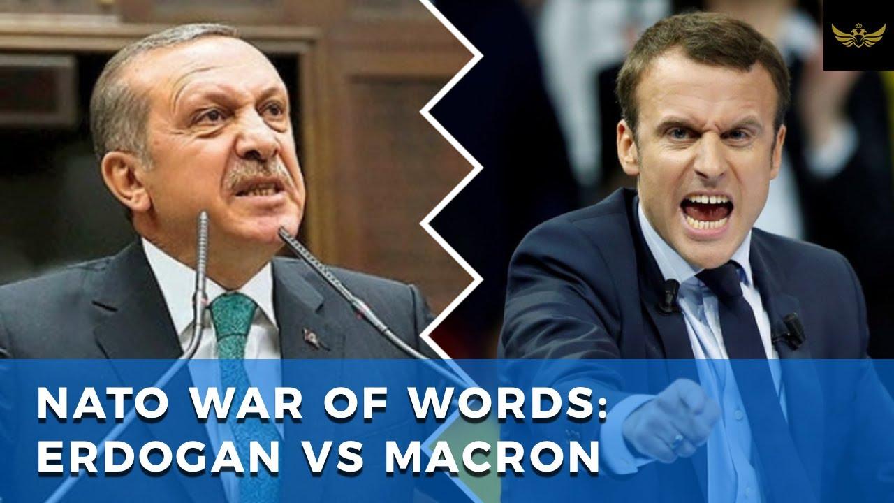 NATO war of words between France's Macron and Turkey's Erdogan