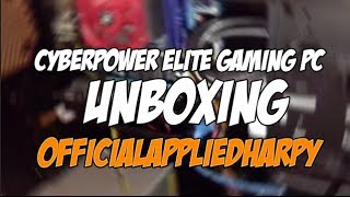 Cyberpower Empire Elite Gaming PC Unboxing!