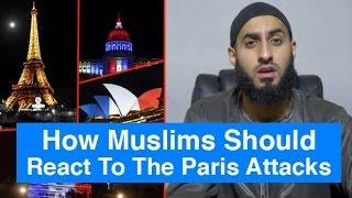 how muslims should react to paris belgium attacks