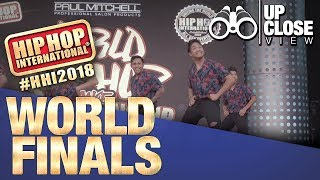 UpClose View: The Peepz - Philippines | Bronze Medalist Adult Division at HHI's 2018 World Finals