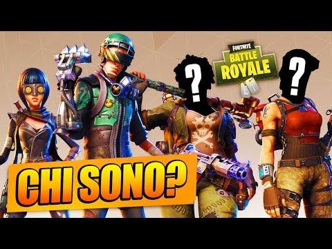 Giochiamo Con DUE SCONOSCIUTI IN SQUADRA!! Lama e Mike su Fortnite Battle Royale ITA
