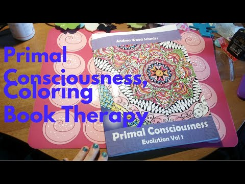 Book color therapy - Primal Consciousness vol.1 + giveaway CHIUSO