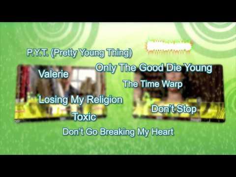 Karaoke Revolution Glee: Volume 3 - Shooting Star Trailer