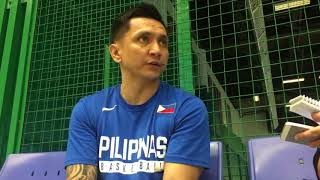 Interview with Alab Pilipinas coach Jimmy Alapag