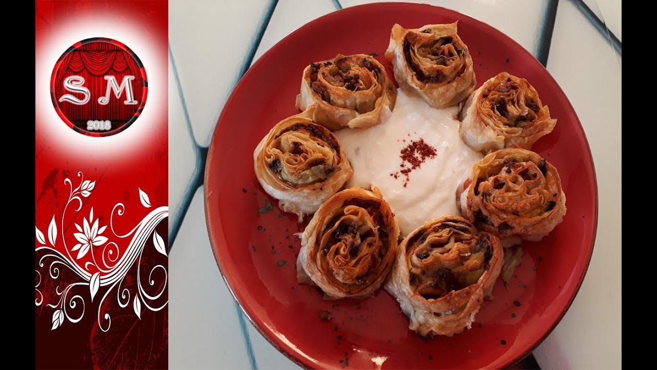 Patlıcanlı Kıymalı Rulo Börek - Yemek.com ile ilgili görsel sonucu