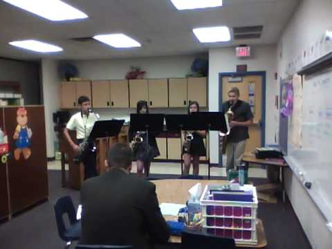 2010 DVUSD Hillcrest Middle School Saxophone Quartet - Irish Suite