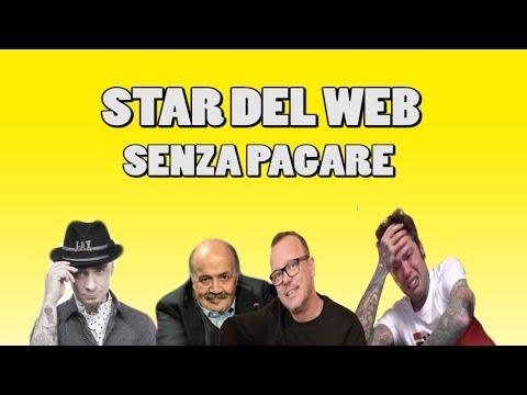 J-AX & Fedez - Senza Pagare VS STAR DEL WEB (Highlander dj Parody)