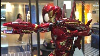 TOYSTV「原形畢露」Hot Toys 1/6 Avengers 3 Infinity War - Iron Man Mark L  Prototype Prevew