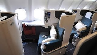 CATHAY PACIFIC | DUSSELDORF-HONG KONG | BUSINESS CLASS | B777