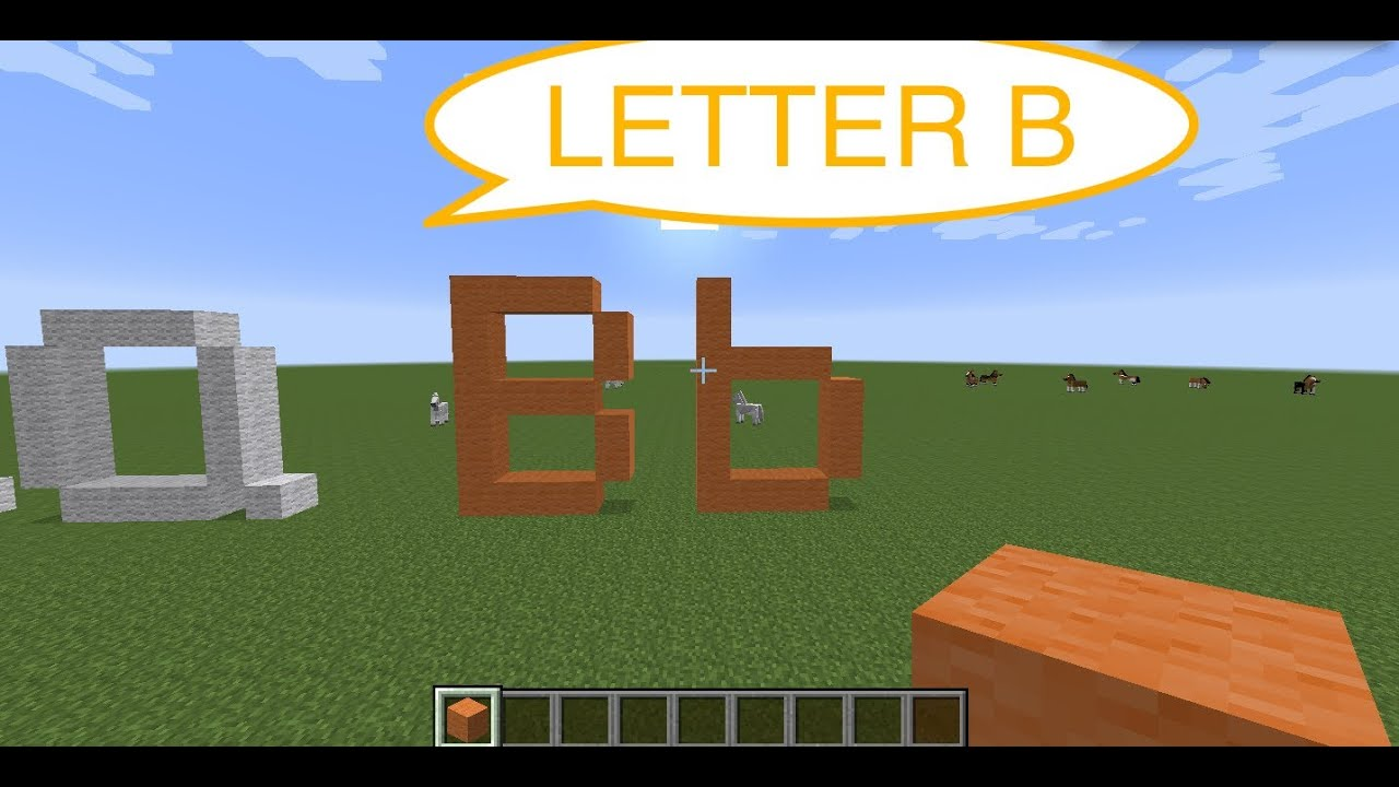 How To Make Pixel Letters