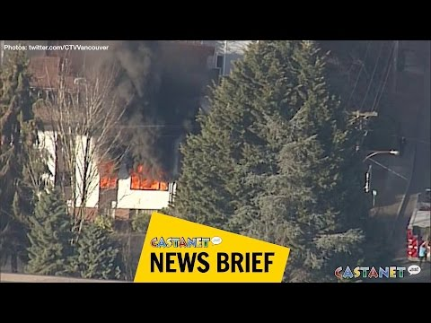 Fire in North Vancouver