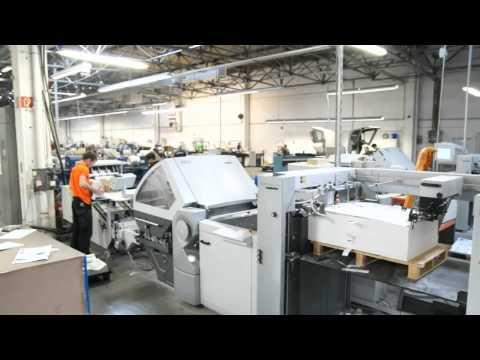 Online print shop Saxoprint relies on highly efficient postpress machines from Heidelberg