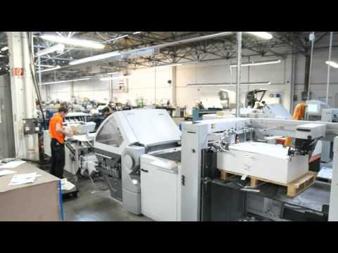 Online Print Shop Saxoprint Relies On Highly Efficient Postpress Machines From Heidelberg