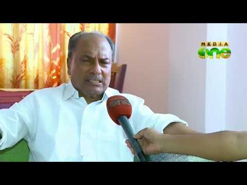 AK Antony shares election hopes in an exclusive interview with MediaOne