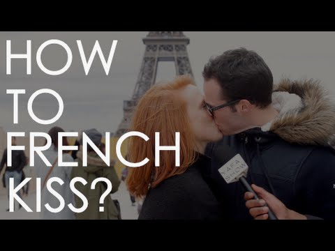 how to french kiss according to couples paris youtube. Black Bedroom Furniture Sets. Home Design Ideas