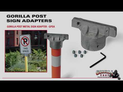 Gorilla Post Sign Adapters Installation – ParkingZone