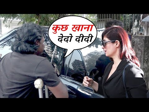 Beggar Asks For Food From Akshay Kumar's Wife Twinkle Khanna - Watch What Happens Next
