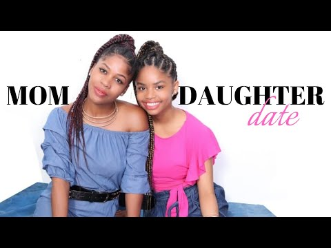 MOMMY AND TEEN DAUGHTER DATE| Goals & Mommy